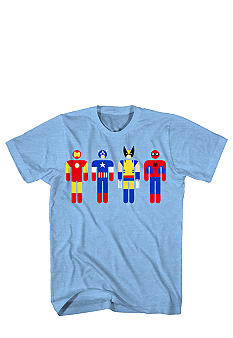Mad Engine Superhero Round Heads Tee