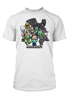 New World Sales Minecraft Party Screen Tee