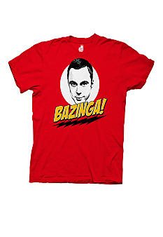 New World Sales Bazinga Sheldon Graphic Tee