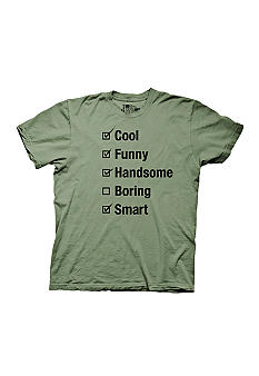 New World Sales Personality Checklist Graphic Tee