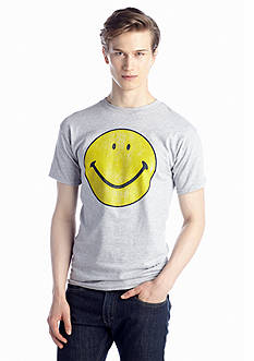 New World Sales Smiley Face Tee