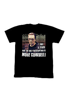 New World Sales SNL More Cowbell Tee