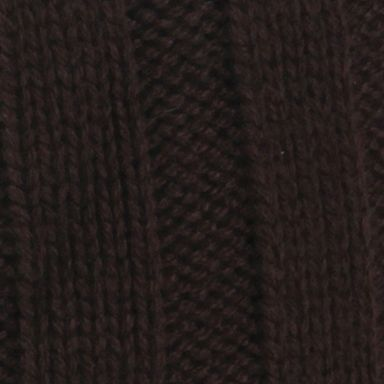 Guys Accessories: Cold Weather: Brown Perry Ellis Ribbed Beanie Hat