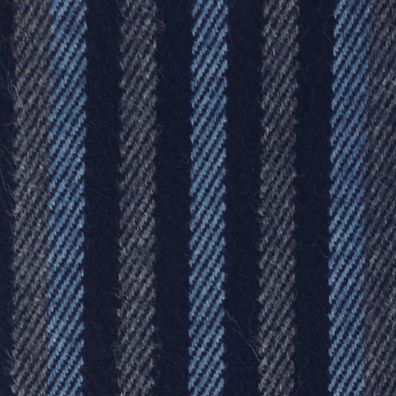 Perry Ellis: Navy Perry Ellis Multistriped Woven Scarf