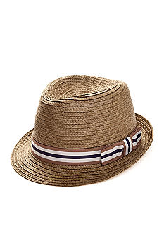 Saddlebred Straw Fedora