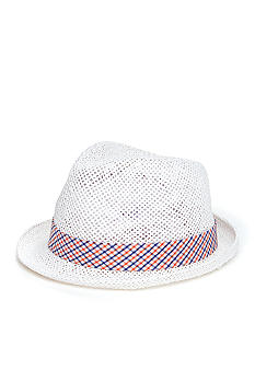 Saddlebred High Crown Straw Fedora