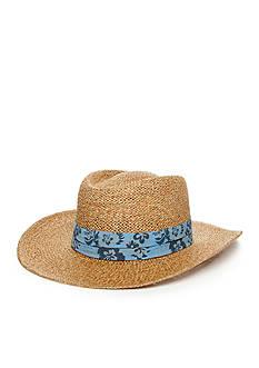 Saddlebred® Straw Banded Hat