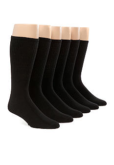 SB TECH 6-Pack Crew Socks
