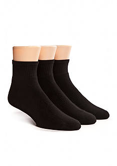 SB Tech 3 Pack Athletic Quarter Socks