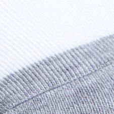 Men's Activewear: Socks: White / Grey SB Tech 3 Pack Athletic Quarter Socks