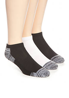 SB Tech Marled Athletic No-Show Socks - 3 Pack