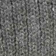 Guys Accessories: Cold Weather: Charcoal Saddlebred Striped Thick Knit Beanie