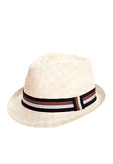 Saddlebred Straw Fedora with Band
