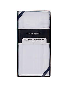 Saddlebred 13pk Pressed Handkerchiefs