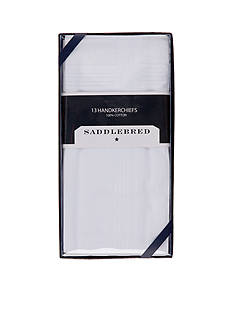 Saddlebred 13-Pack Pressed Handkerchiefs