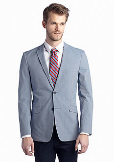 Madison Slim-Fit Navy Fine Line Sport Coat