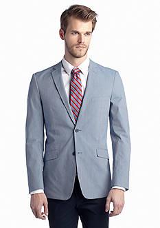 Madison Slim-Fit Navy Fine Line Sport Coat