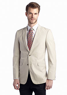 Madison Slim-Fit Tan Fine Line Sport Coat
