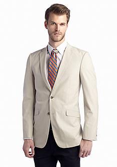 Madison Slim-Fit Tan Fine Line Sport Coat