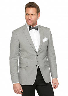 Madison Slim-Fit Black White Mini Check Sport Coat