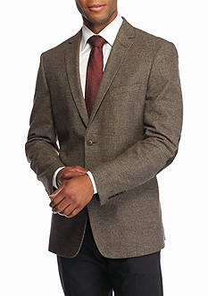 Madison Brown Houndstooth Sport Coat with Elbow Patch