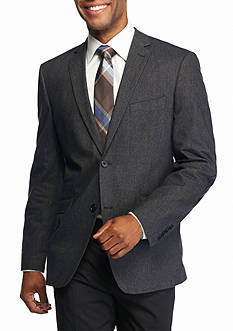 Madison Blue Donegal Sport Coat with Elbow Patch