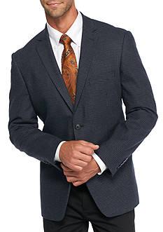 Madison Slim-Fit Blue Houndstooth Sport Coat