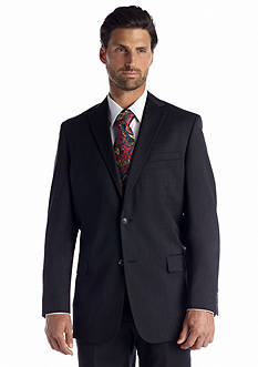 Palm Beach Classic Fit Charcoal Bishop Suit Separate Coat