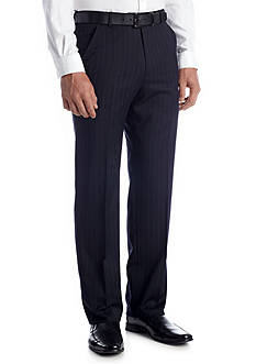 Palm Beach Classic Fit Cole Navy Stripe Pants