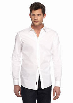 Michael Kors Tailored Cotton Poplin Shirt