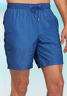 Michael Kors Pin Dot Swim Trunks