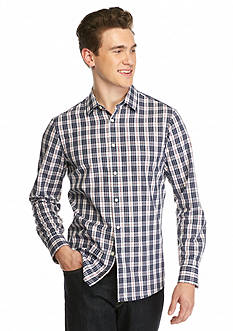 Michael Kors Tailored Hampton Checked Shirt