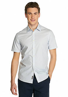 Michael Kors Short Sleeve Tailored Fit Alvin Shirt