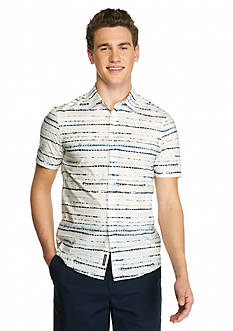 Michael Kors Short Sleeve Slim Fit Shirt