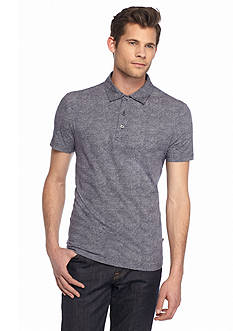 Michael Kors Printed Cotton Polo Shirt