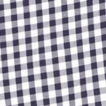 Michael Kors for Men: Navy Michael Kors Short Sleeve Tailored Fit Gingham Woven Shirt