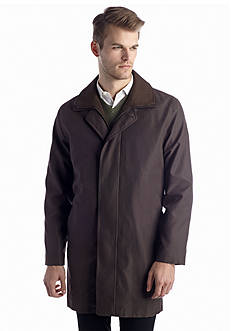 Lauren Ralph Lauren Tailored Clothing Lauren Edgar Brown Short Raincoat