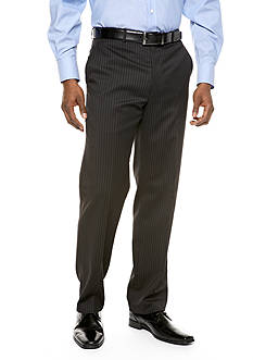 Lauren Ralph Lauren Tailored Clothing Classic Fit Ultraflex Stripe Suit Separate Pants