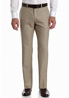 Lauren Ralph Lauren Tailored Clothing Classic Fit Shark Flat Front Pants