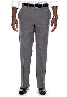 Lauren Ralph Lauren Tailored Clothing Flat Front Dress Slacks