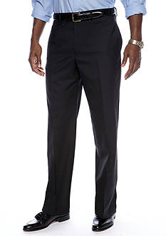 Lauren Ralph Lauren Tailored Clothing Straight Fit Flat Front Dress Pants