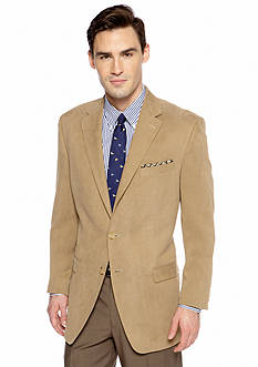 Lauren Ralph Lauren Tailored Clothing Classic Fit Chamois Suede Sportcoat
