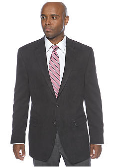 Lauren Ralph Lauren Tailored Clothing Black Corded Suede Sport Coat