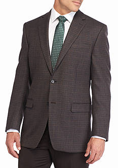 Lauren Ralph Lauren Tailored Clothing Classic-Fit Gun Club Sport Coat