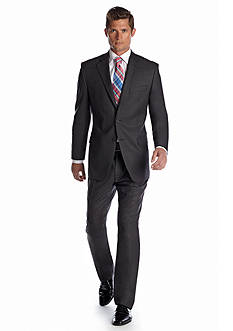 Lauren Ralph Lauren Tailored Clothing Classic Fit Solid Gray Suit