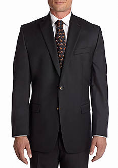 Lauren Ralph Lauren Tailored Clothing Ultraflex Black Total Comfort Blazer
