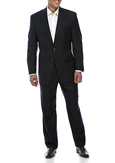 Lauren Ralph Lauren Tailored Clothing Navy Stripe Suit