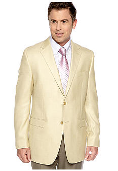 Lauren Ralph Lauren Tailored Clothing Solid Sportcoat