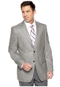 Lauren Ralph Lauren Tailored Clothing Houndstooth Sportcoat