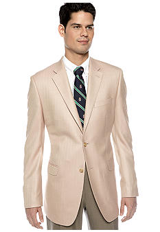 Lauren Ralph Lauren Tailored Clothing Herringbone Sportcoat